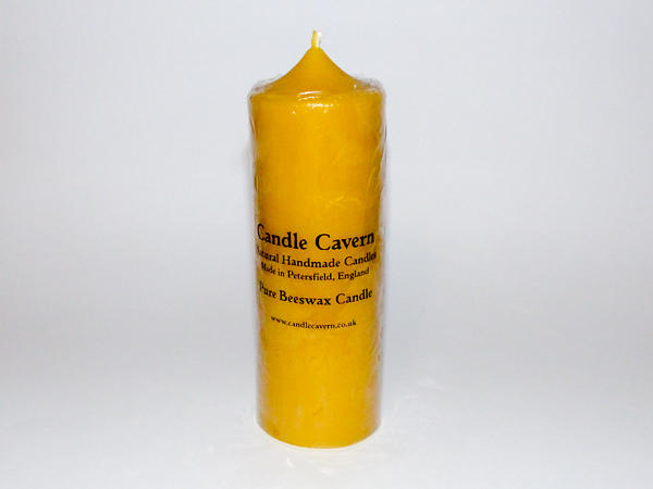 Solid Cast LARGE Beeswax Candle