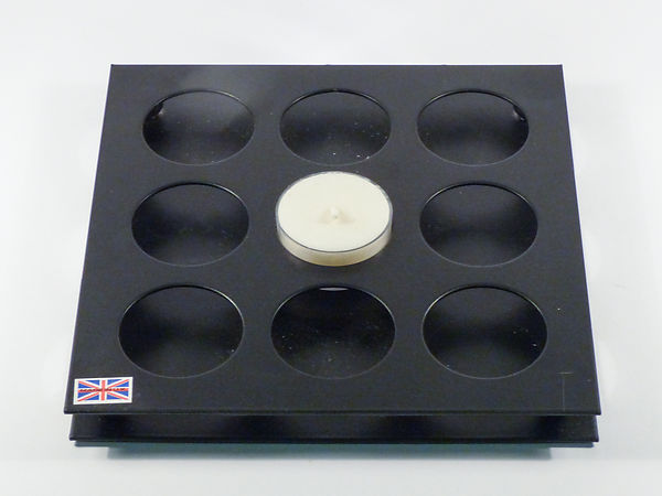 Decorative 9-Hole Tealight Holder