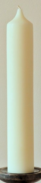 X-Large Church Style Beeswax Pillar Candle