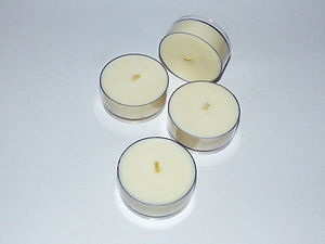 Pure Soy Wax Maxi Tealights - Set of 4