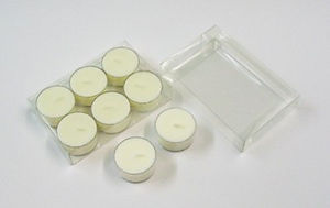 Clear Rigid Tealight Presentation Boxes