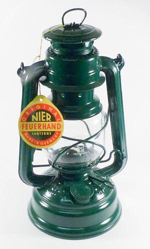 FEUERHAND hurricane lantern - Green